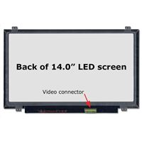 "14.0"" Replacement Laptop LCD Screen HD 1366x768 Glossy 40-Pin"