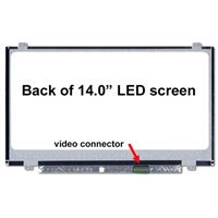 "14.0"" Replacement Laptop LCD Screen FHD 1920x1080  Matte 30-Pin Right-Side Connector"