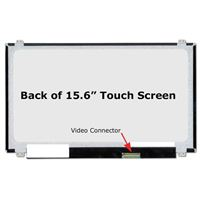 "15.6"" Replacement Laptop LCD Touch Screen HD 1366x768 Glossy 40-Pin Right-Side Connector"