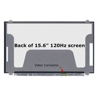 "15.6"" Replacement Laptop LCD Screen FHD 1920x1080 120Hz Matte 30-Pin Right-Side Connector"