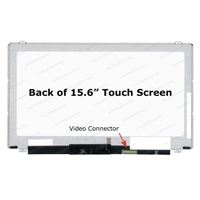 "15.6"" Replacement Laptop LCD Touch Screen FHD 1920x1080 IPS Glossy 40-Pin Right-Side Connector"