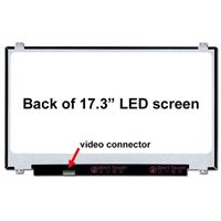 "17.3"" Replacement Laptop LCD Screen HD+ 1600x900 Matte 30-Pin Left-Side Connector"