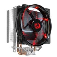 Redragon CC-1011 Reaver CPU Cooler, Slim Design, 2.0 Heatpipes, Red...