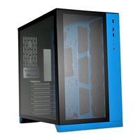 Lian Li PC-O11 Dynamic Tempered Glass eATX Full Tower Computer Case - Blue