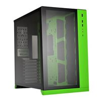 Lian Li PC-O11 Dynamic Tempered Glass eATX Full Tower Computer Case - Green