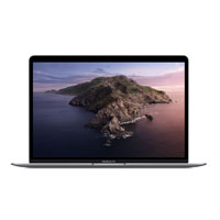 "Apple MacBook Air with Touch ID MVFH2LL/A_R 2019 13.3"" Laptop Computer Refurbished - Space Gray"