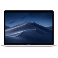"Apple MacBook Pro with Touch Bar MV922LL/A 2019 15.4"" Laptop Computer Refurbished - Silver"