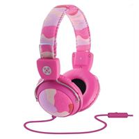 Moki International Headphones - Pink Camo