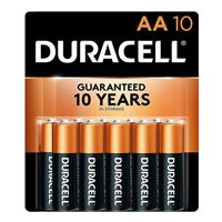 Duracell CopperTop AA Alkaline Battery - 10 Pack