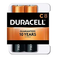 Duracell CopperTop C Alkaline Battery - 8 Pack