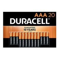 Duracell CopperTop AAA Alkaline Battery - 20 Pack