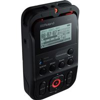Roland R-07 High-Resolution Audio Recorder - Black