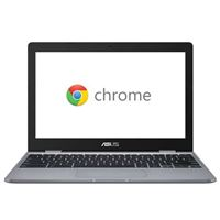 "ASUS Chromebook CX22NA-BCLN4 11.6"" Laptop Computer - Gray"