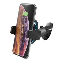 Scosche Industries MagicGrip Grip Clip Dashboard Phone Mount w/ Qi Wireless Charging - Black