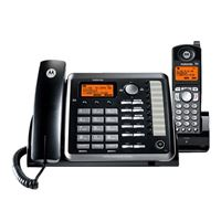 Motorola ML25255 2-Line Cored/Cordless Expandable Phone with Digital Answering System