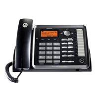 Motorola ML25254 DECT 6.0 2-Line Corded Deskphone w/ Digital Answering System