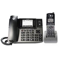 Motorola ML1250 4-Line Expandable Corded/Cordless Combination