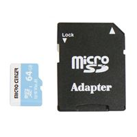 Micro Center 64GB microSDXC Class 10 / U3 / V30 / A1 Flash Memory Card...