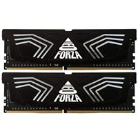 Neo Forza Faye 16GB (2 x 8GB) DDR4-3200 PC4-25600 CL16 Dual Channel Desktop Memory Kit NMUD480E823200D - Black