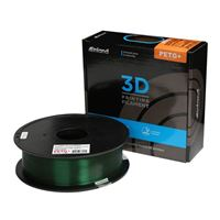 Inland 1.75mm Translucent Green PETG+ 3D Printer Filament - 1kg Spool (2.2 lbs)
