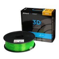 Inland 1.75mm Translucent Green TPU-95A 3D Printer Filament - 1kg Spool (2.2 lbs)