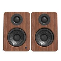 Kanto YU2 Powered Desktop Speakers w/ Built-in USB DAC - Walnut