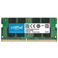 Crucial 8GB DDR4-2666 PC4-21300 CL19 Single Channel Memory Module CT8G4SFRA266