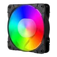 Redragon GC-F007 Full Color RGB Hydro Bearing 120mm Case Fan - 3 Pack