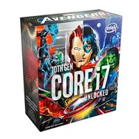Intel Core i7-10700K Comet Lake 3.8GHz Eight-Core LGA 1200 Boxed Processor (Marvel Avengers Special Edition)