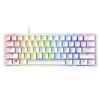 Razer Huntsman Mini 60% Optical Gaming Keyboard White - Clicky Purple Switch