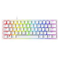Razer Huntsman Mini 60% Optical Gaming Keyboard Mercury - Linear Red Switch