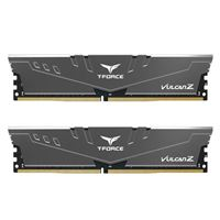 TeamGroup T-FORCE VULCAN Z 64GB (2 x 32GB) DDR4-3200 PC4-25600 CL16 Dual Channel Desktop Memory Kit - Gray