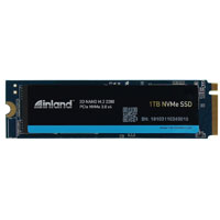 Inland Platinum 1TB SSD NVMe PCIe Gen 3.0x4 M.2 2280 3D NAND Internal Solid State Drive, Read/Write Speed up to 3,400 MBps and 1,900  MBps, PCIe Express 3.1 and NVMe 1.3 Compatible, Ultimate Gaming Solution