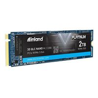Inland Platinum 2TB SSD NVMe PCIe Gen 3.0x4 M.2 2280 3D NAND Internal Solid State Drive, PCIe Express 3.1 and NVMe 1.3 Compatible, The Ultimate Gaming Solution