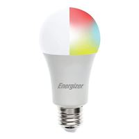 Energizer A19 Smart Bright RGB White LED Bulb