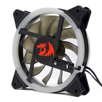 Redragon GC-F011 RGB Hydraulic Bearing 120mm Case Fan - 3 Pack