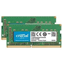 Crucial 64GB DDR4-2666 (PC4-21300) CL19 SODIMM Memory for Mac (Two...