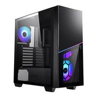 MSI MPG SEKIRA 100R Tempered Glass eATX Mid-Tower Computer Case