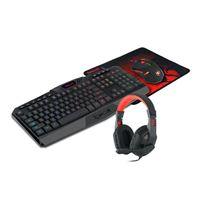 Redragon S101 Wired RGB Backlit Gaming Keyboard and Mouse, Gaming...