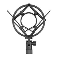 Neewer NW-2 Black Shock Mount for Microphone Stand