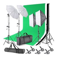 Neewer Background Support System and Umbrellas Softbox Lighting Kit