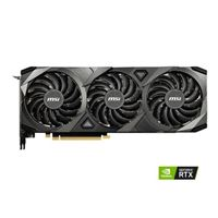 MSI GeForce RTX 3090 Ventus 3X Overclocked Triple-Fan 24GB GDDR6X PCIe 4.0 Graphics Card