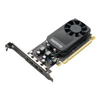 PNY Quadro P1000 V2 Single-Fan 4GB GDDR5 PCIe 3.0 Graphics Card