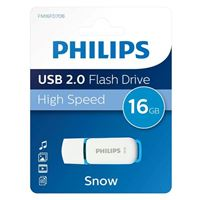 Philips 16GB Snow Edition USB 2.0 Flash Drive Blue