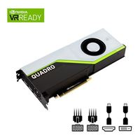 PNY Quadro RTX 5000 Single-Fan 16GB GDDR6 PCIe 3.0 Graphics Card
