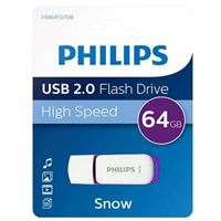 Philips 64GB Snow Edition USB 2.0 Flash Drive