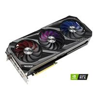 ASUS GeForce RTX 3090 Strix Overclocked Triple-Fan 24GB GDDR6X PCIe 4.0 Graphics Card