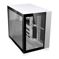 Lian Li O11D Mini  Tempered Glass ATX Mini Tower Computer Case - White