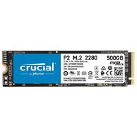 Crucial P2 1TB (CT1000P2SSD8) M.2 NVMe  Interface PCIe 3.0 x4 Internal Solid State Drive with 3D QLC NAND, up to 2400MB/s, 2280