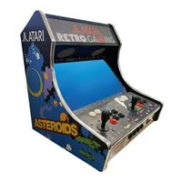 "Atari Bartop Arcade Cabinet - Full Kit, includes Raspberry Pi 3B+, 32gb Micro SD Card with over 140 classic Atari games, and 21.5"" monitor"